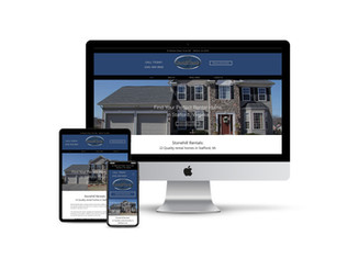 Website Design for Rental Home Company