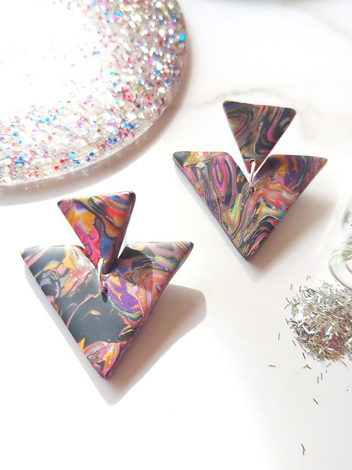 Alchemy Agrippina Designer Dangles -  Polymer Clay