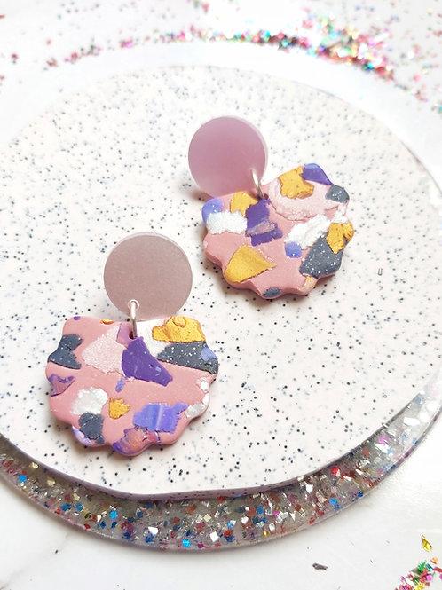 Terra Rosa Lorelei Designer Dangles - Polymer Clay