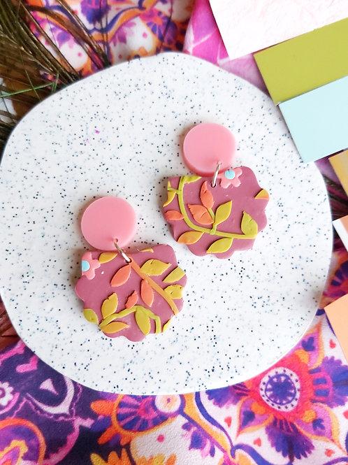 Tehran Lorelei Berry Designer Dangles - Polymer Clay