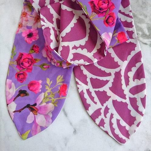 Magnolia Garden Reversible Headscarf