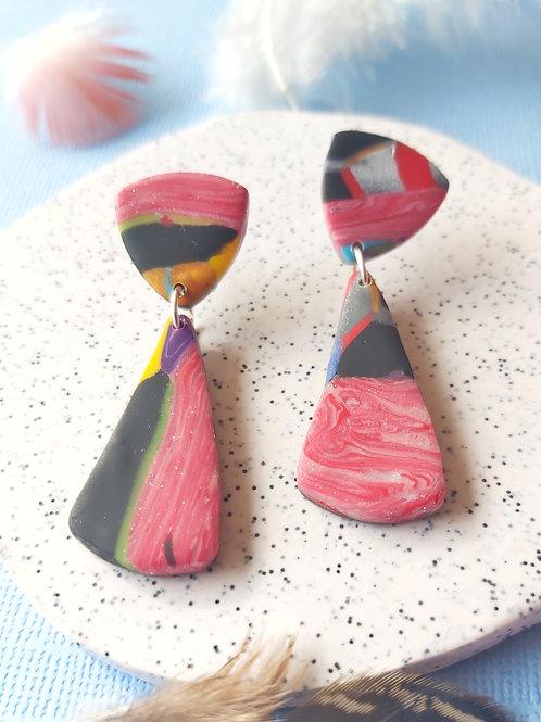 Birdy Bop Isolde Designer Dangles - Polymer Clay
