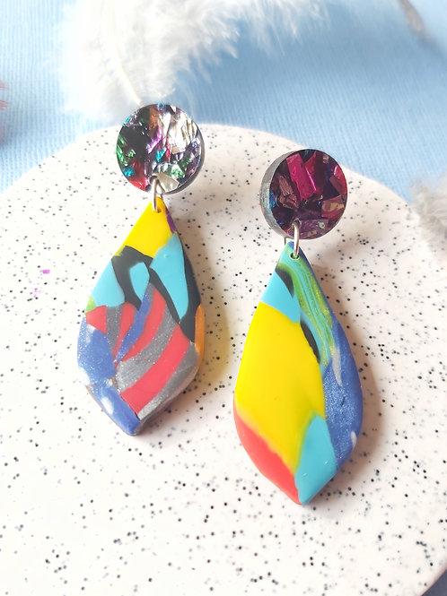 Birdy Bop Guinevere Designer Dangles - Polymer Clay