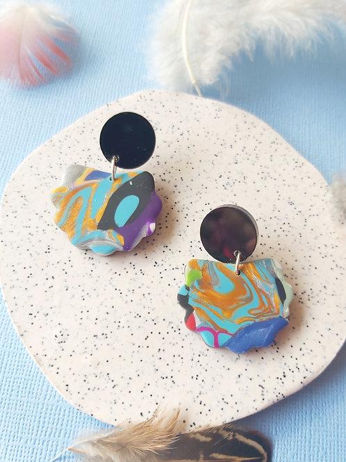 Birdy Bop Lorelei Designer Dangles - Polymer Clay