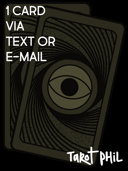 One Card via Text or Email