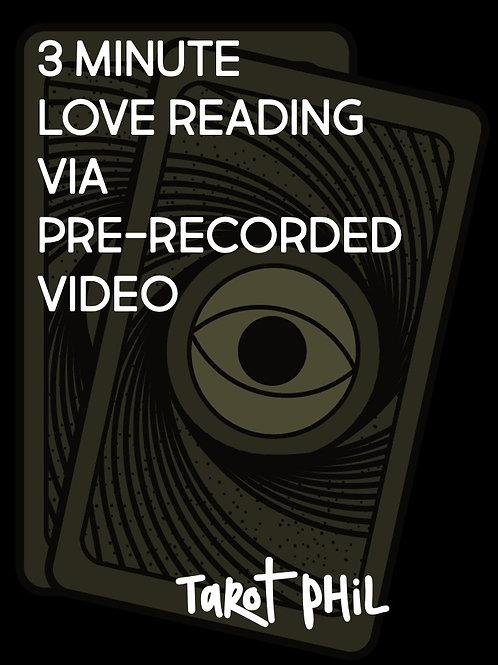 Love Reading via Recorded Video