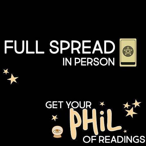 Full Spread in Person