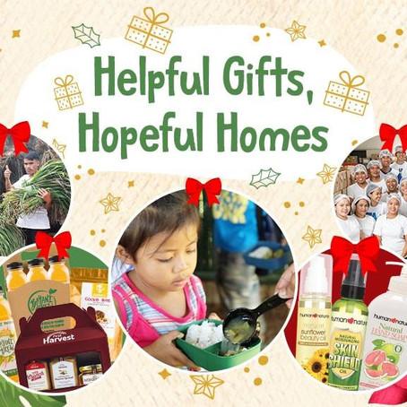 Helpful Gifts, Hopeful Homes