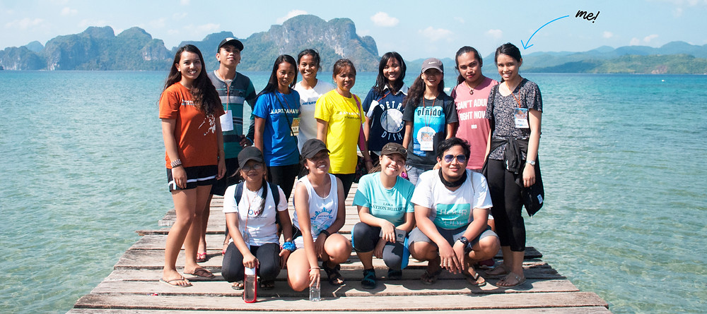 Mels Balitaan at the 2019 GK Bayani Build Challenge in Palawan, Philippines