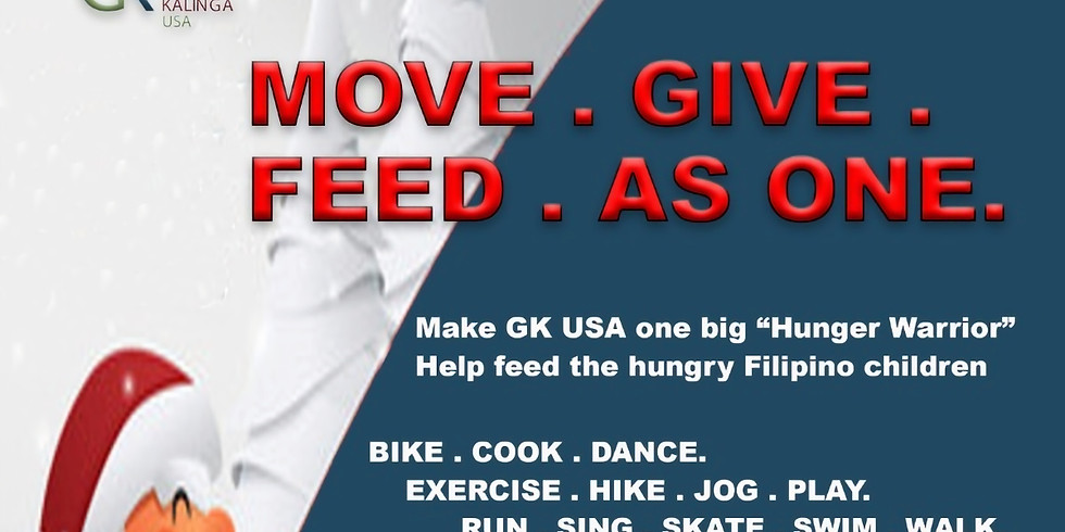 Move. Give. Feed. As One.
