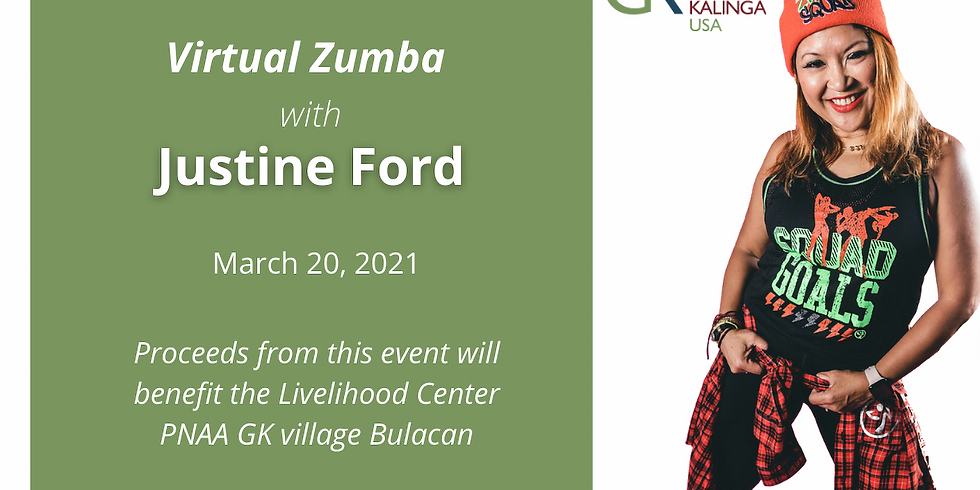 Virtual Zumba with Justine Ford