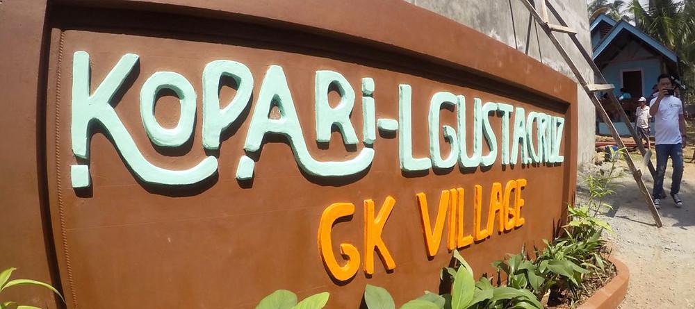 Kopari-LGU Sta. Cruz GK Village in Sta. Cruz, Davao del Sur, Philippines