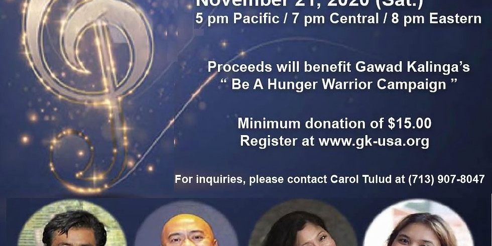 Rhythms of Love and Hope - A Benefit Concert