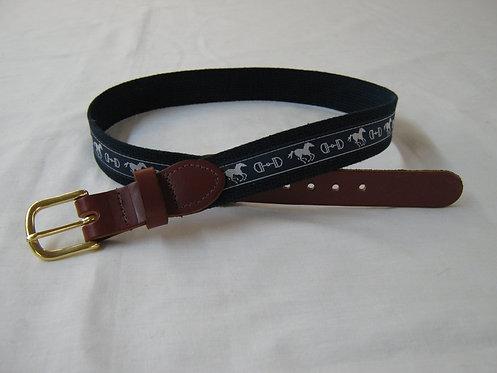 Horse and Bit Trimmed Belt