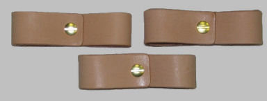 Replacement Leather Buckle Breakaway Set of 3