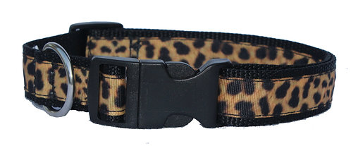 Leopard Trimmed Collar