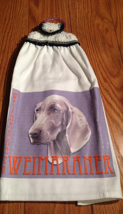 Weimaraner Hand Towel