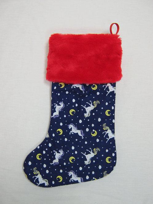 Unicorn Christmas Stocking