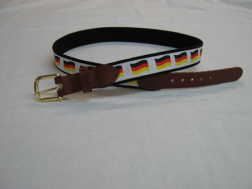 Germany Flag Trimmed Belt
