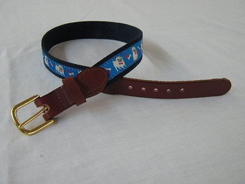 Pugs Trimmed Belt