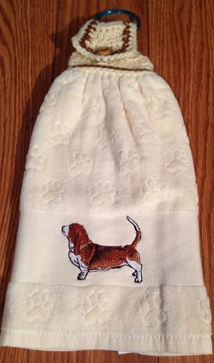 Beagle Hand Towel