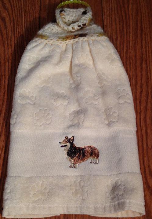 Corgi Hand Towel