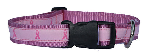 Breast Cancer Support Trimmed Collar