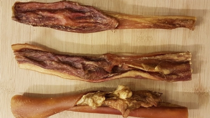 3 Pieces Dried Beef Hide – 100% Beef