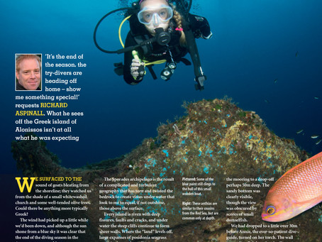 Diver magazine feature: Triton Delivers