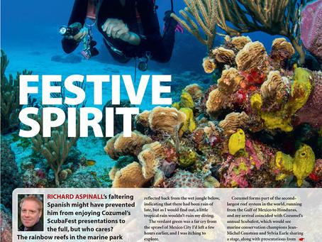 Diver magazine: Scubafest, Mexico