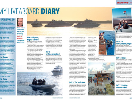 Diver magazine special: My Liveaboard Diary