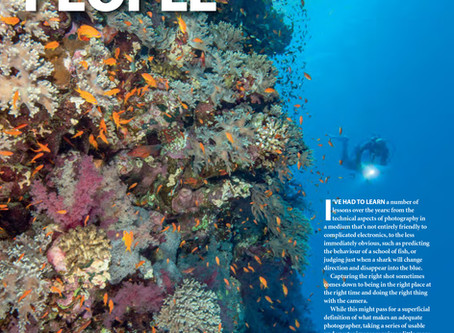 People Photography, in Diver Magazine
