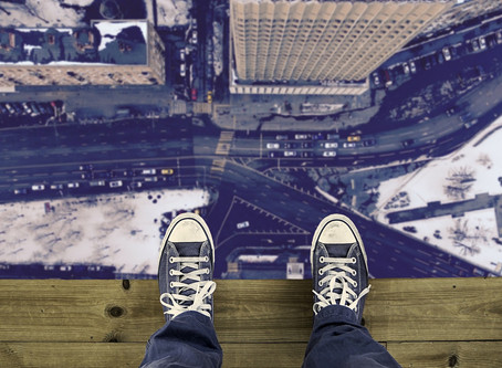 Acrophobia – A fear of heights.