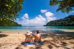 Honeymoon Beach Picnic Fiji