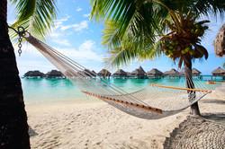 Relaxing in Tahiti