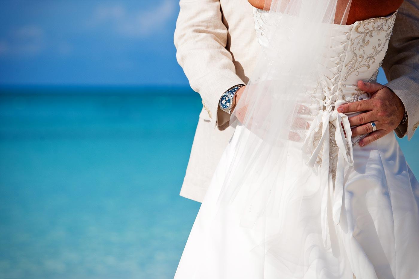 Destination Wedding Embrace