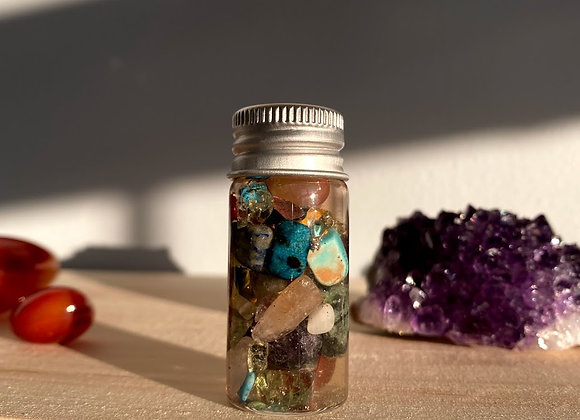 New Beginnings Mini Crystal Jar