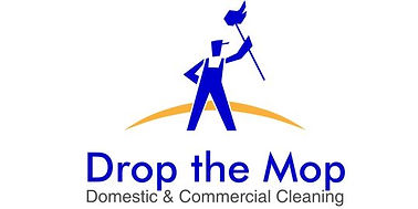 Drop The Mop Domestic & Commercial Cleaning Logo