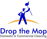 Drop The Mop Domestic and Commercial Cleaning Logo