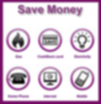 Save money on Gas, Electricty, Home Phone, Internet andMobile Poster