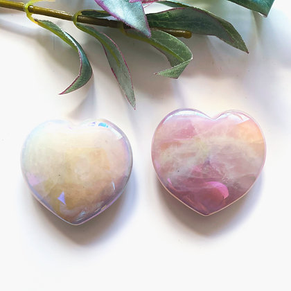 Rose Aura Heart