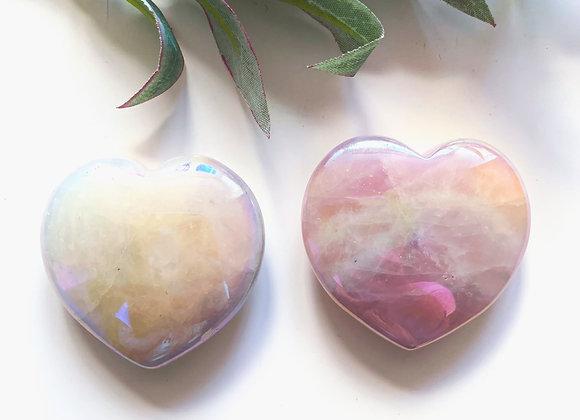 Rose Aura Heart