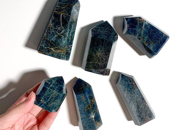 Blue Apatite Point