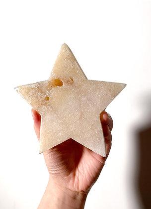 Pink Amethyst Star