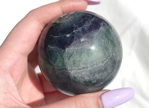 Fluorite Sphere