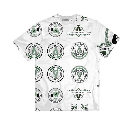 Paper Champ all logos shirt