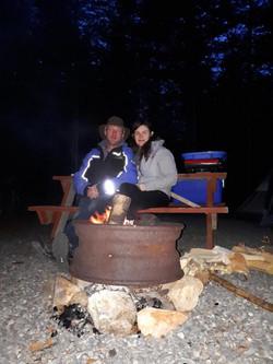 Enjoy an evening fire!