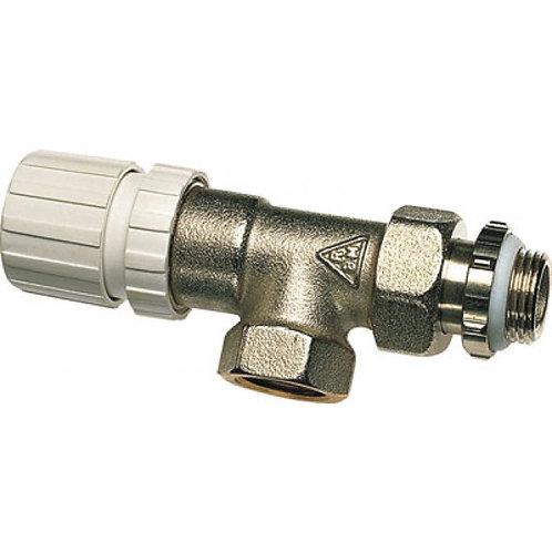 Corps de robinet thermostatique équerre inversé - filetage 15x21 RBM