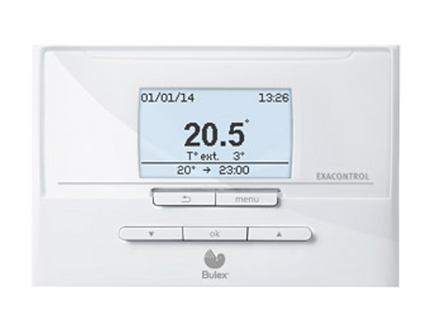 ExaControl E7C Bulex Thermostat eBUS programmable