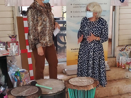 CWC Donates to VPA's Drum Therapy Project